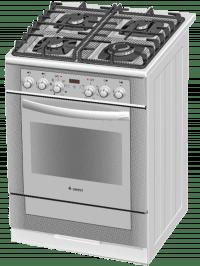 Газоэлектрическая плита Gefest 6502-03 0242